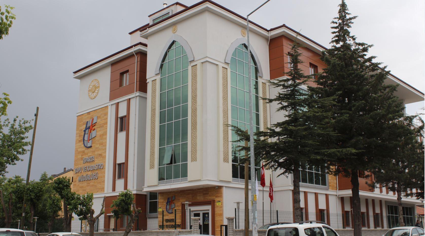 Isparta Tapu ve Kadastro Müdürlüğü Hizmet Binası Yapım İşi