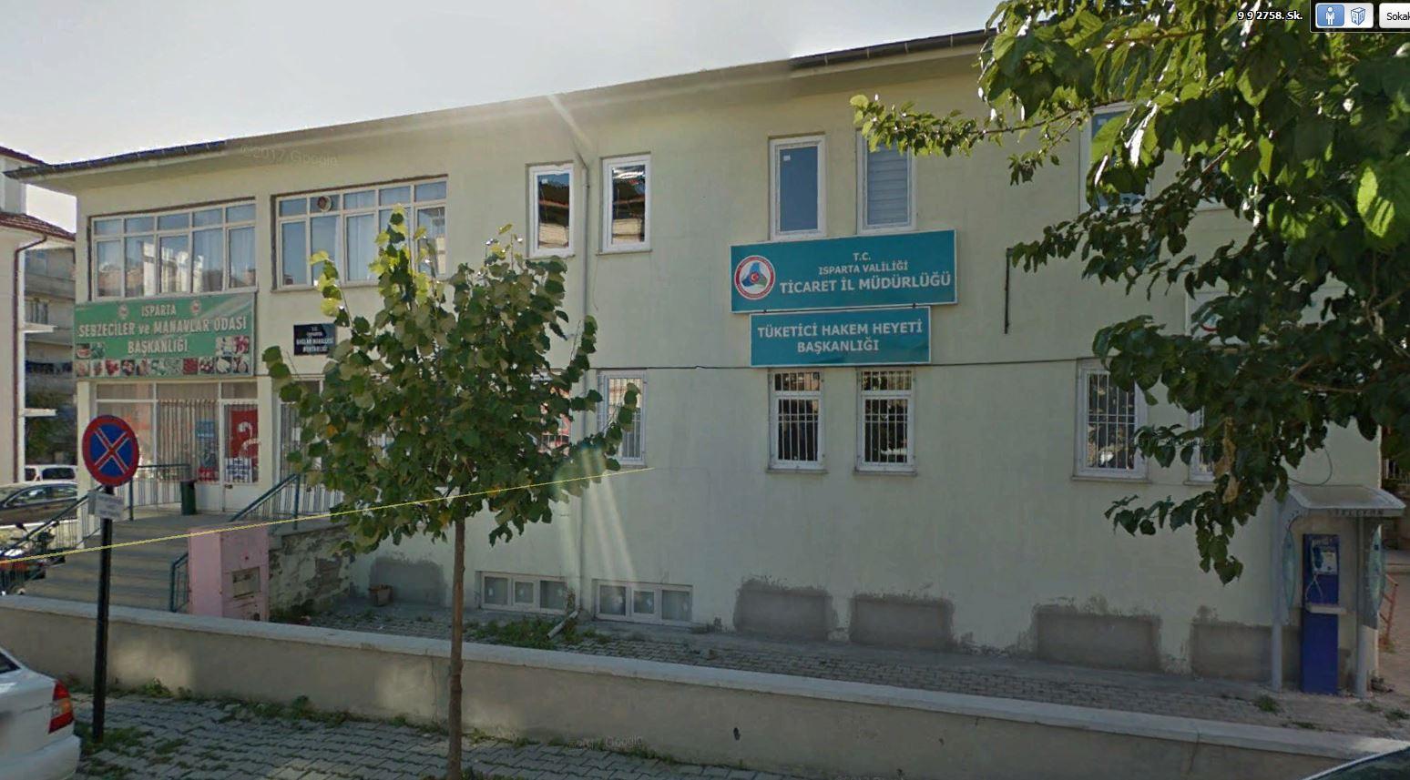Isparta Ticaret İl Müdürlüğü Hizmet Binası Genel Onarım İşi