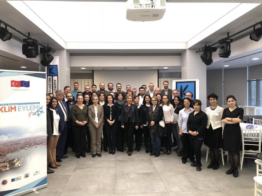 """Çevre ve Şehircilik İl Müdürlüğü olarak Kadıköy İklim Eylemi Projesi (KİEP) """"Uzmanlar Danışma Toplantısı"""" na katılım sağlandı."""