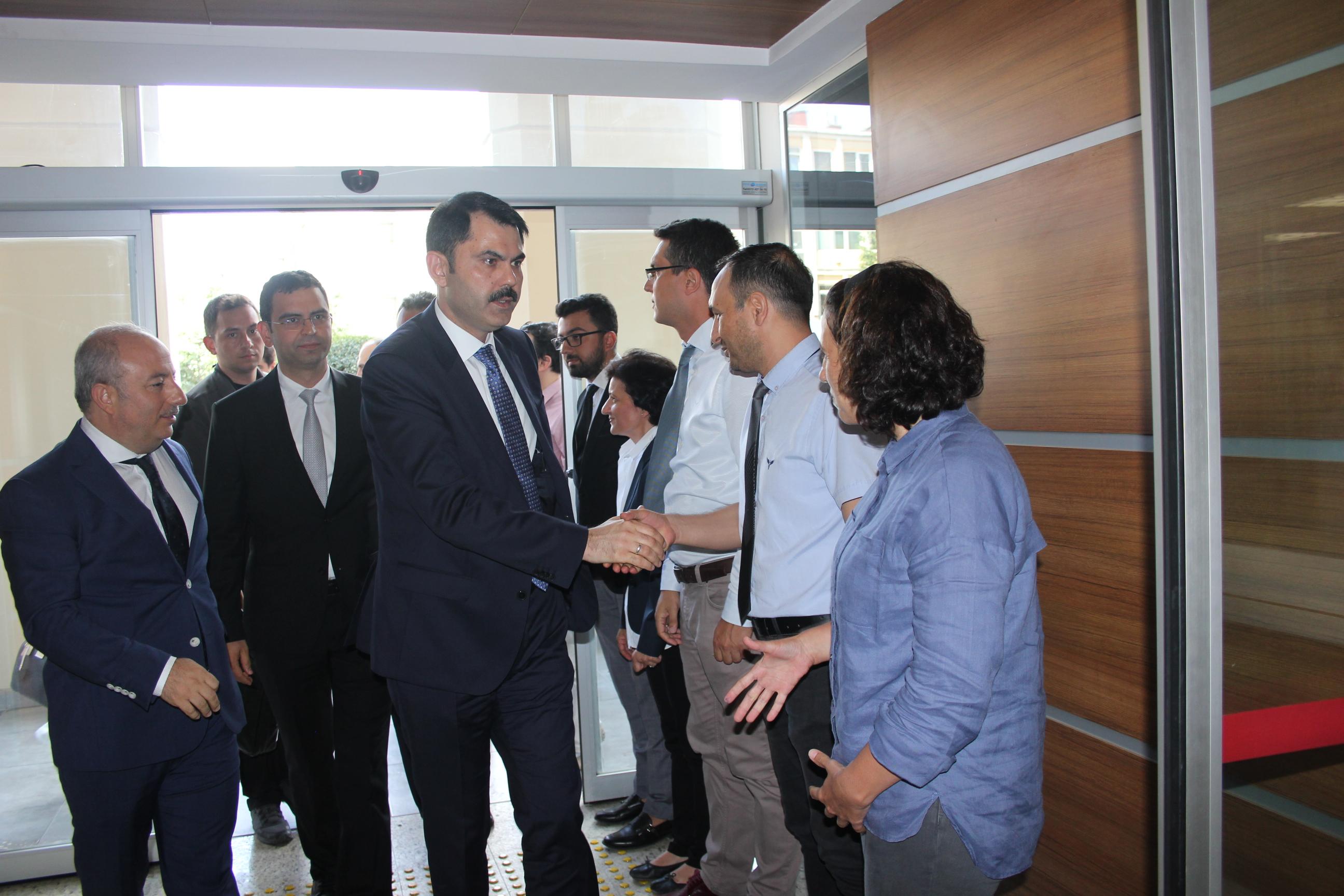 Çevre ve Şehircilik Bakanı Sn. Murat KURUM'dan Müdürlüğümüze İlk Ziyaret