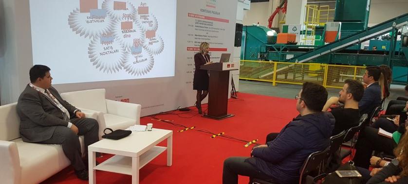 Geri Dönüşüm Fuarı REW İstanbul 2018 Bakanlığımız Ve İl Müdürlüğümüzün Katılımıyla Tüyap'ta Gerçekleşti