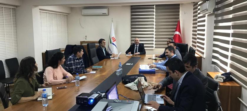 İl Müdürlüğümüz Başkanlığında Haliç'te Tarama Sonrası Durum İle İlgili Toplantı Düzenlendi