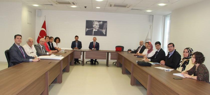 İl Müdürlüğümüz Yetkilileri ile İstanbul Tuzla Bölgesinde Yer Alan 5 Organize Sanayi Bölgesinin Yöneticileri, Bölgelerine ait Yüzey ve Yağmur Suları Uzaklaştırılması İle İlgili Toplantı Düzenlendi.