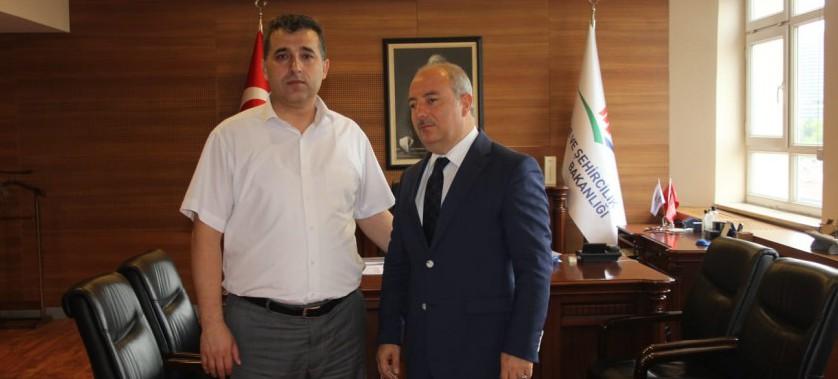 İl Müdürümüz Namık GÜVER, İl Müdürlüğü Görevini Hacı Mehmet GÜNER'e Teslim Etti