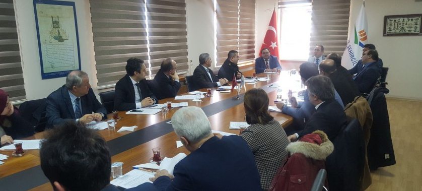 İstanbul İli 174 No'lu İl Mahalli Çevre Kurulu Toplantısı (İ.M.Ç.K.) Sn. Vali Yardımcısı Halil Serdar CEVHEROĞLU başkanlığında ve İl Müdürümüz Dr. Avukat Veli BÖKE'nin Katılımıyla Yapıldı
