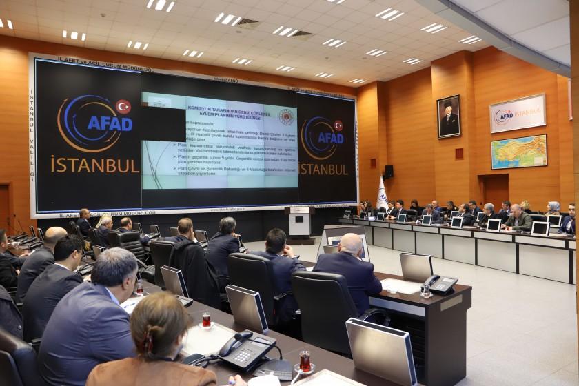 """""""Deniz Çöpleri İl Eylem Planı Komisyon Toplantısı"""" yapıldı"""
