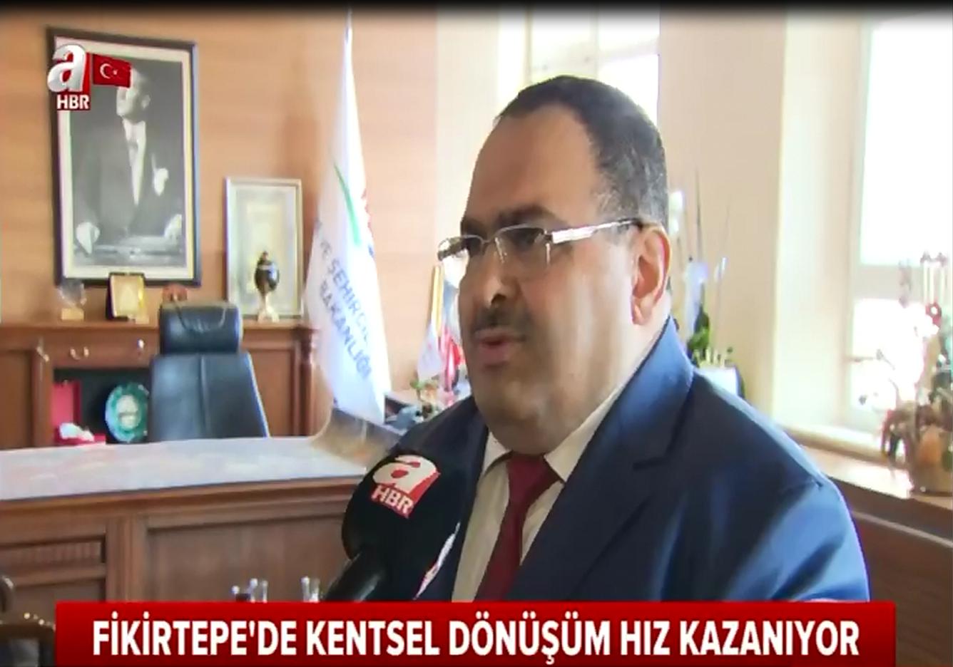 İl Müdürümüz Dr. Av. Veli BÖKE, Fikirtepe'deki çalışmalar ile ilgili A Haber'e açıklamalarda bulundu.