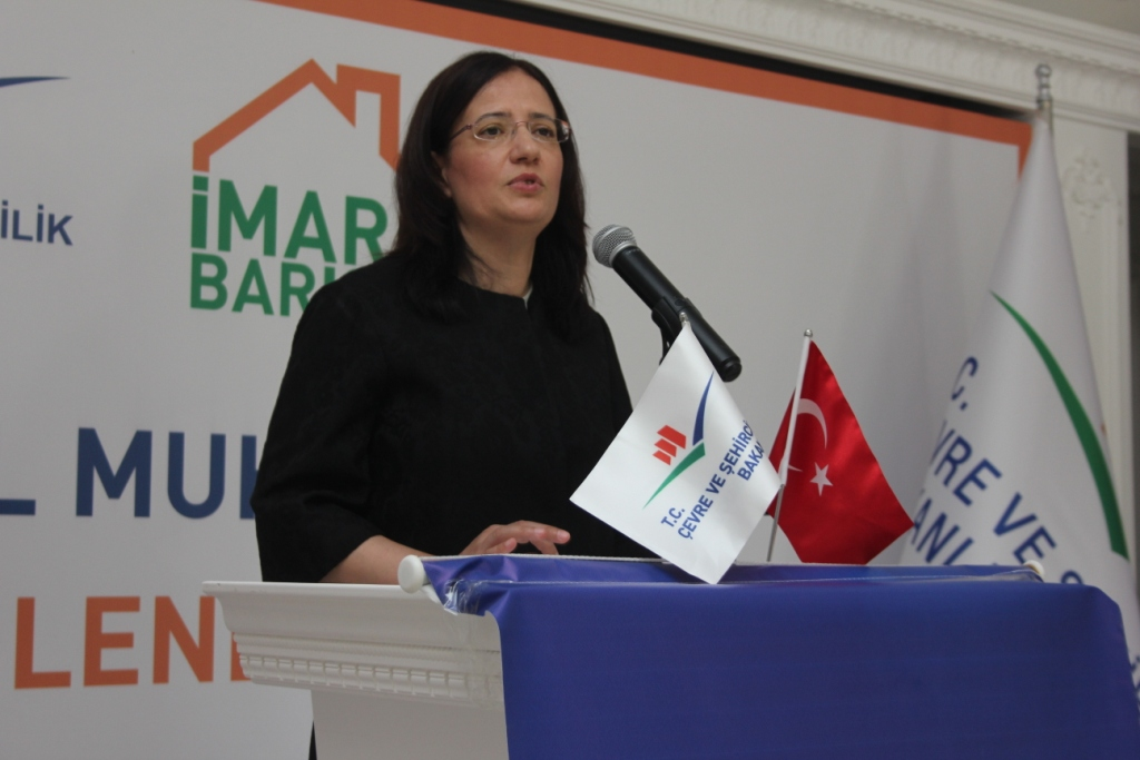 İstanbul Muhtarları İmar Barışı Bilgilendirme Toplantısı gerçekleşti.