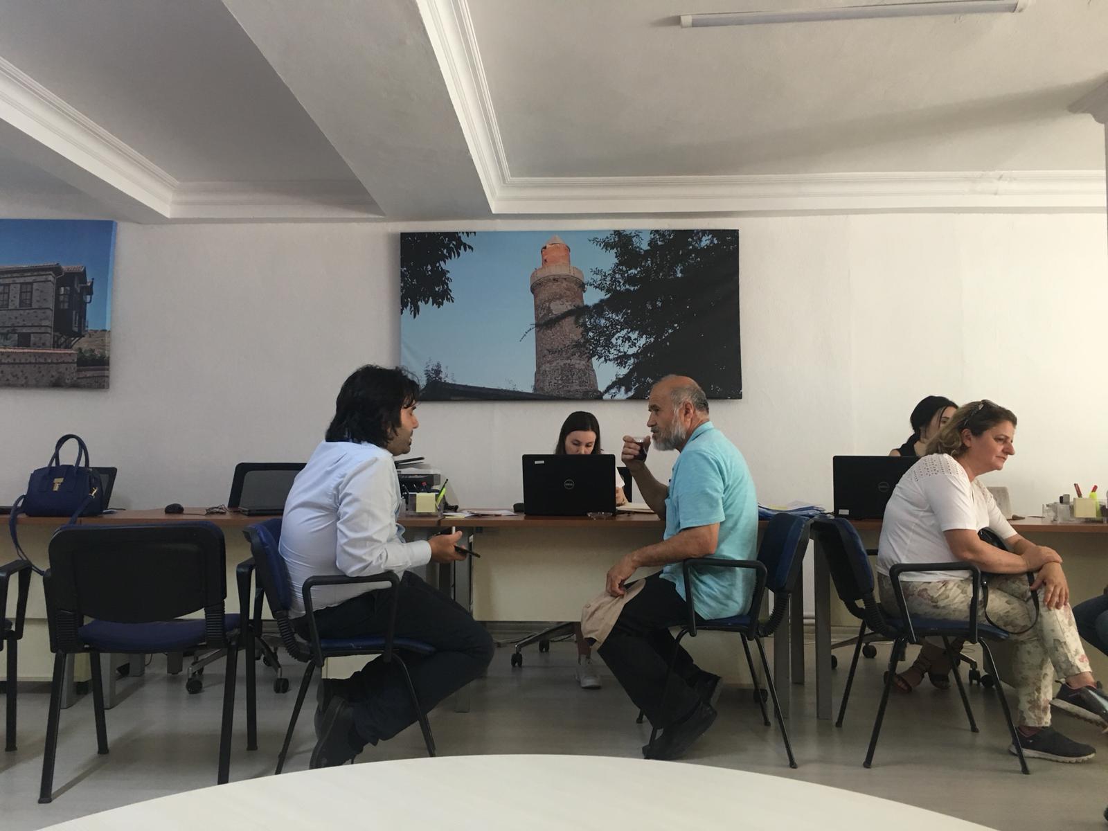 Kartal Orhantepe Mahallesinde Dönüşüm Ofisi Açılmıştır