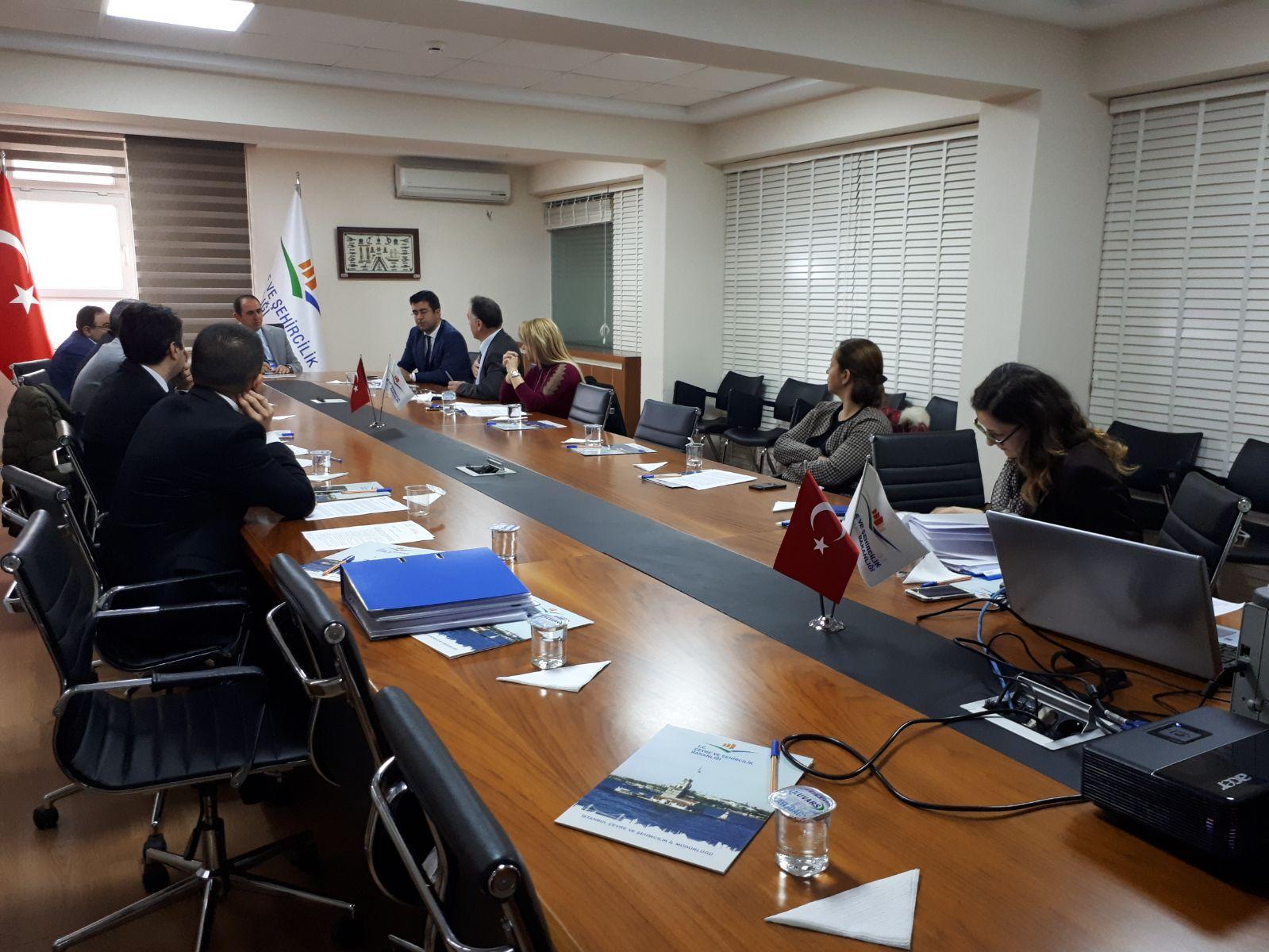 Puma-1 Gemi Kazası Komisyon Toplantısı