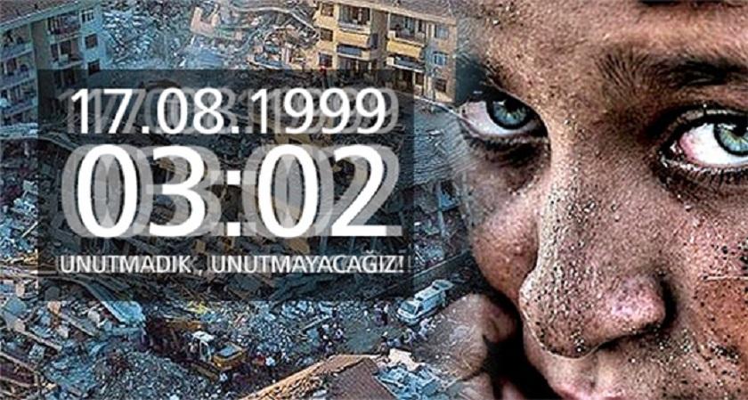 17 Ağustos 1999 Gölcük Depreminin 21. Yılı;