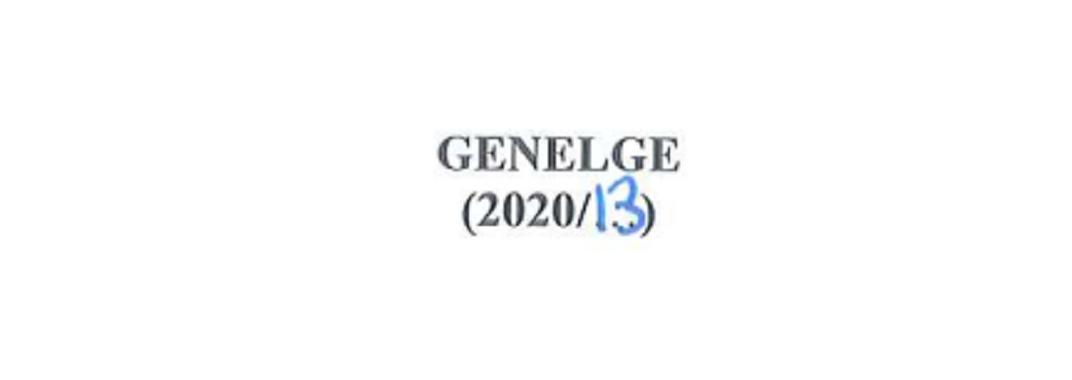 2020/13 Sayılı COVİD-19 Salgını ve Atıksu Yönetimine İlişkin Önlemler Genelgesi