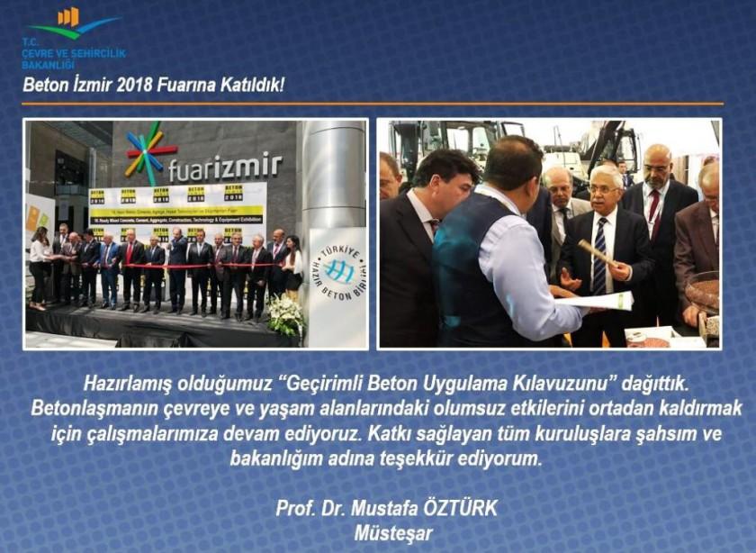 BETON İZMİR 2018 FUARINA KATILDIK