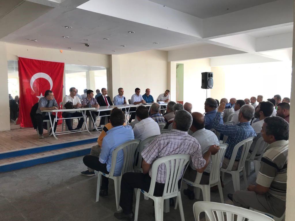 BİLGİLENDİRME TOPLANTISI GERÇEKLEŞTİRİLDİ..