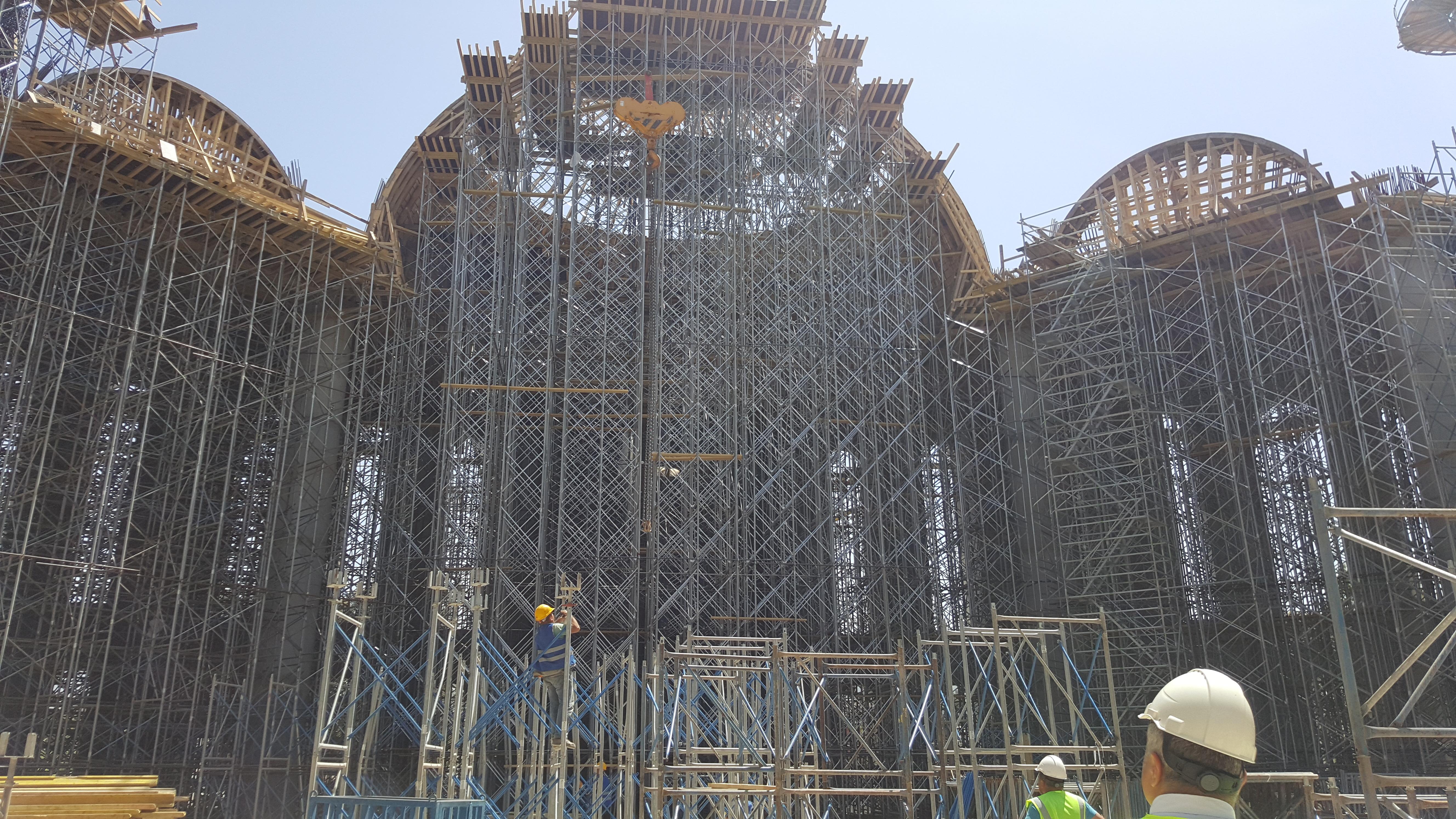 Ege Bölgesinin en büyük camisi olan Nevvar Salih İşgören Ulu Camii inşaatı, İl Müdürümüz Sayın Ömer…