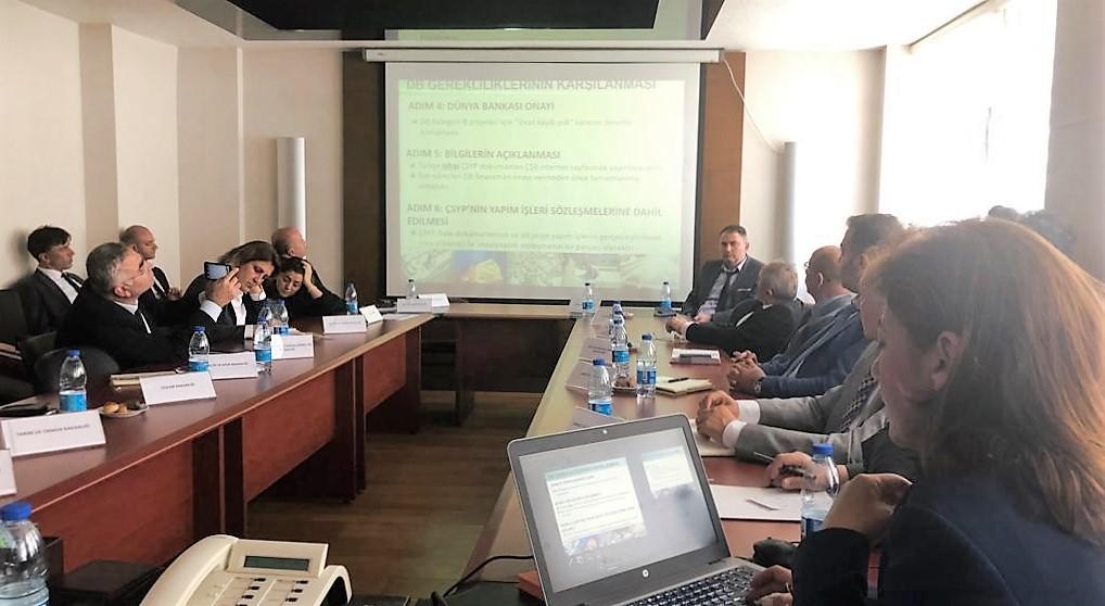 """Dünya Bankası """"Türkiye'de Kamu Binalarında Enerji Verimliliği"""" Projesi Çalışmaları"""