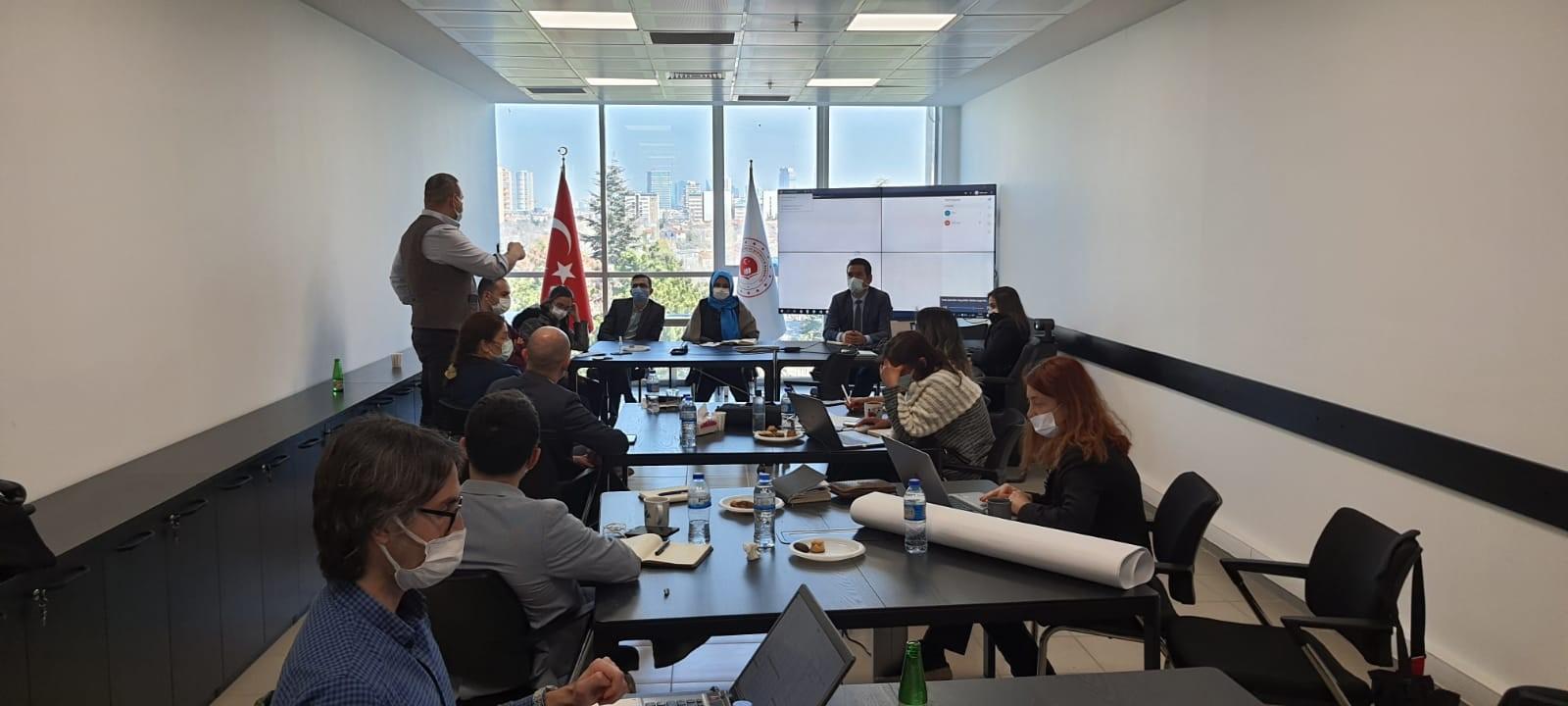 KABEV projesi kapsamında yürütülecek olan danışmanlık işleri dahilinde  eğitim düzenlenmiştir