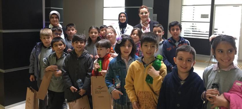 Ömer Lütfü Özaytaç İlkokulu 3. Sınıf öğrencileri Müdürlüğümüzü ziyaret ettiler