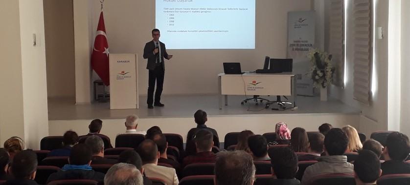 Türkiye Afet Müdahale Planı (TAMP) Bilgilendirme Toplantısı