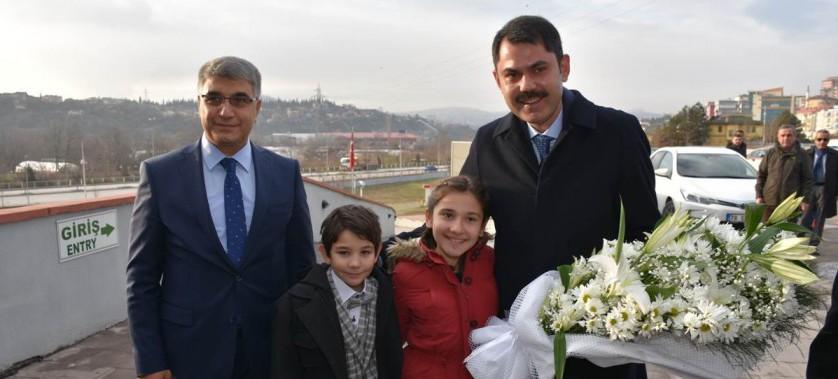 Sayın Bakanımız Murat KURUM 05.01.2019 Tarihinde İlimizi Ziyaret Etti