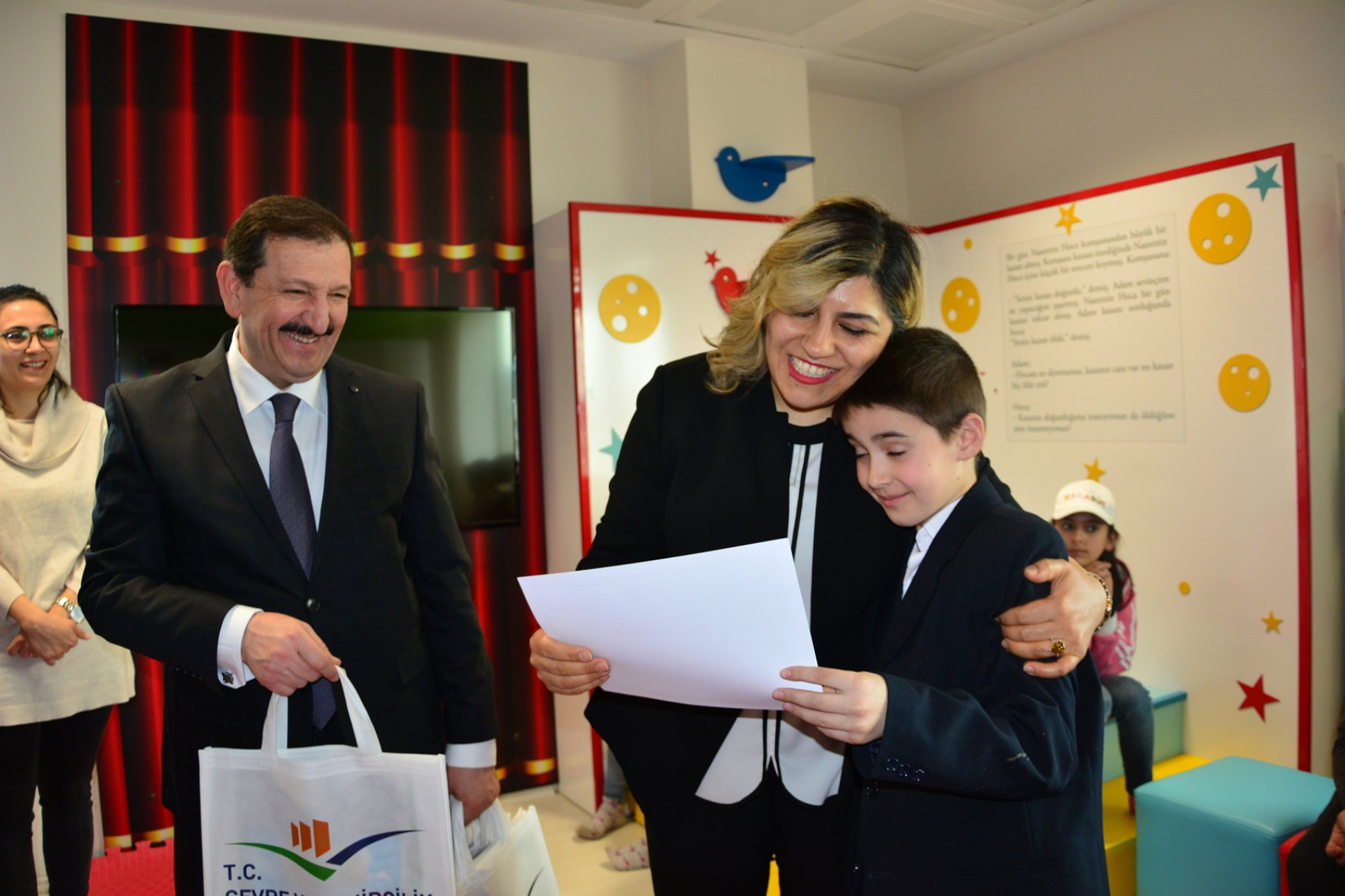 Gülümse Karabük Projesi Kapsamında Müdürlüğümüz Ziyaret Edildi