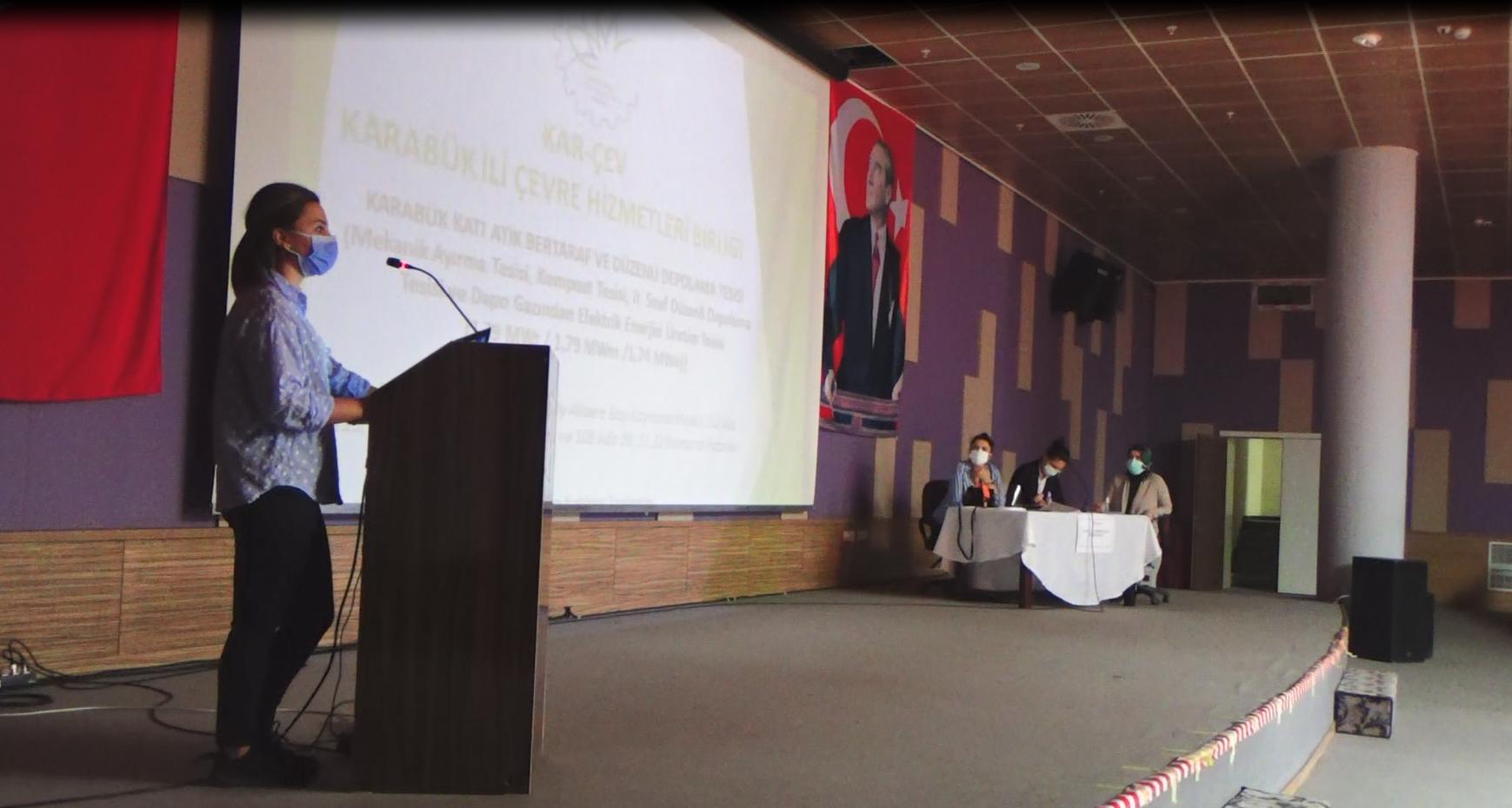 Karabük Katı Atık Bertaraf ve Düzenli Depolama Tesisi Projesi Hakkında Halkın Katılımı Toplantısı Düzenlendi.