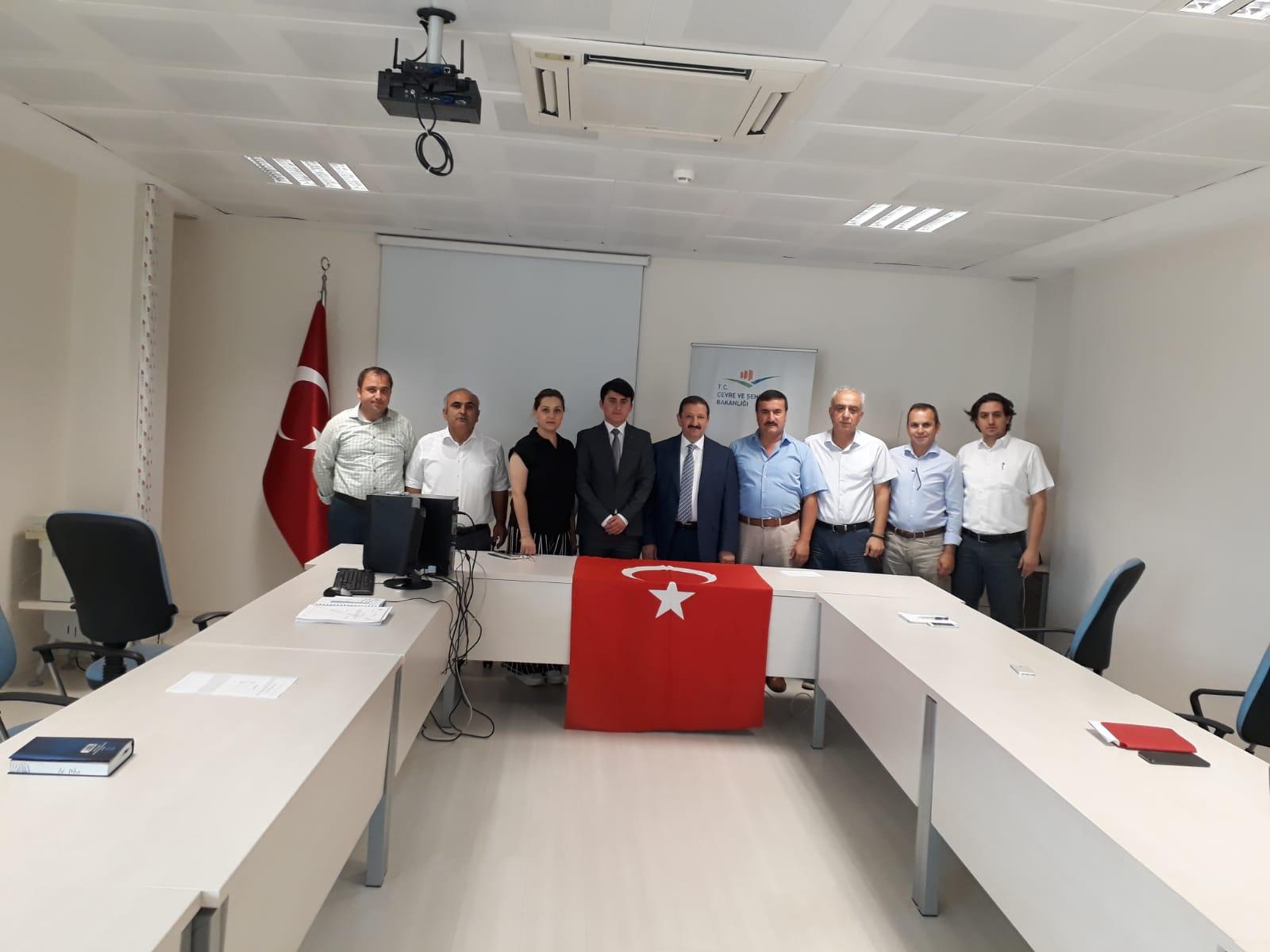Müdürlüğümüz Personeli Aday Memur Sefacan PINARBAŞI'nın Yemin Töreni