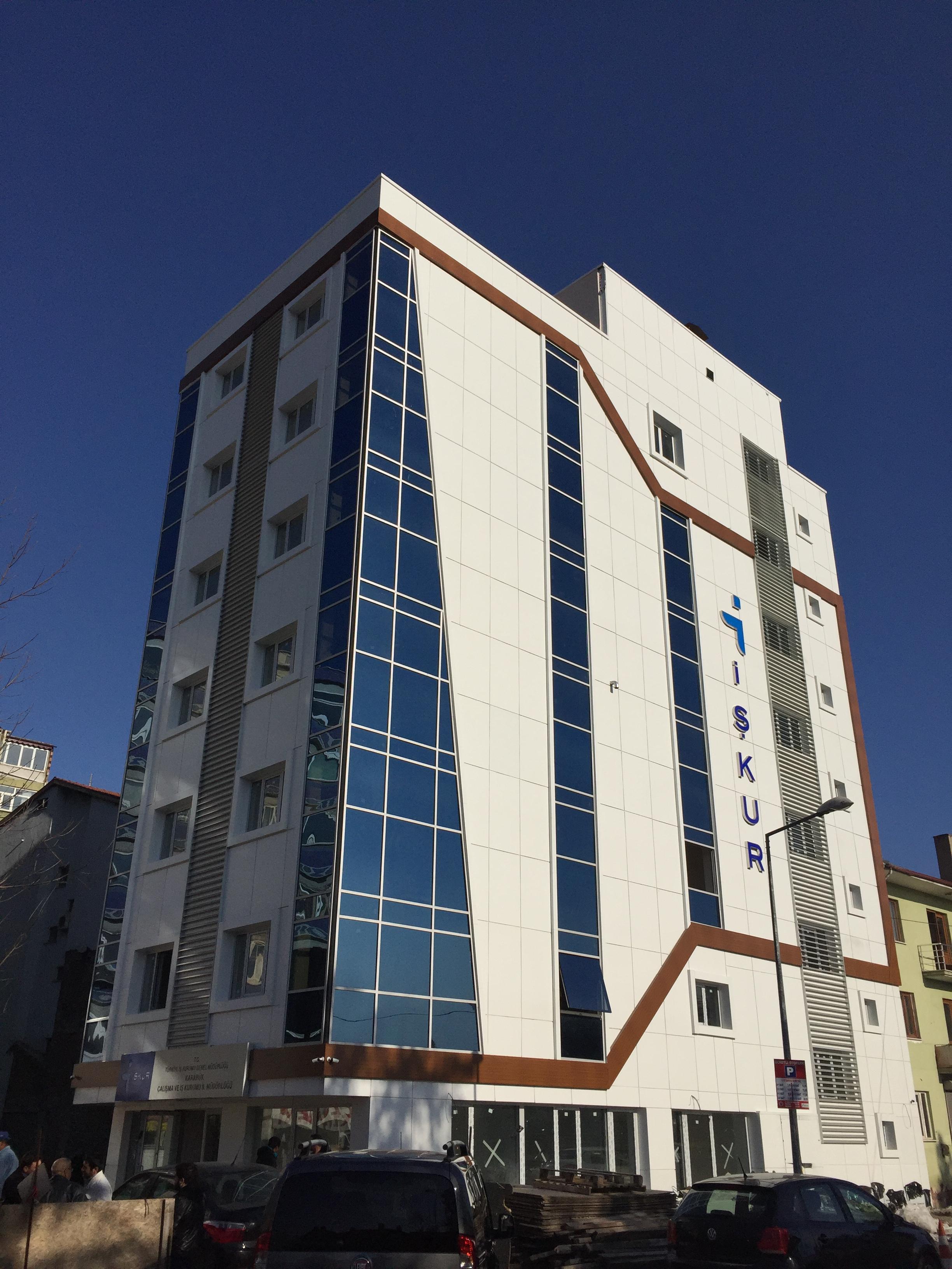 Karabük Çalışma ve İş Kurumu ( İŞKUR ) İl Müdürlüğü Hizmet Binası Yapımı