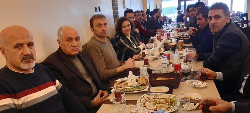 Memet Kenan ÖZKURT'un Emekliye Ayrılması nedeniyle Müdürlüğümüz Personellerince veda yemeği düzenlendi