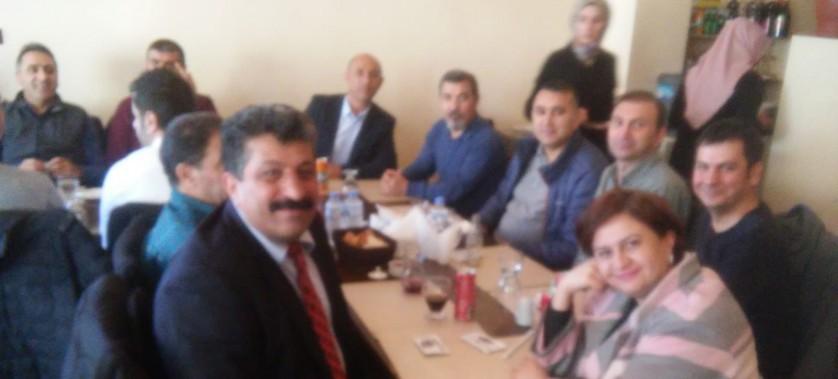 Müdürlüğümüz personeli Mehmet TEKATLI'nın tayinin çıkmasınedeniyle