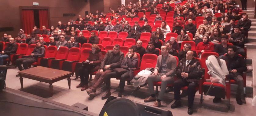İl Müdürlüğümüzce, Sıfır Atık Projesi ve Sıfır Atık Bilgi Sistemi hakkında 15.02.2019 tarihinde saat 14:00 de İl Kültür ve Turizm Müdürlüğü konferans salonunda eğitim verilmiştir.