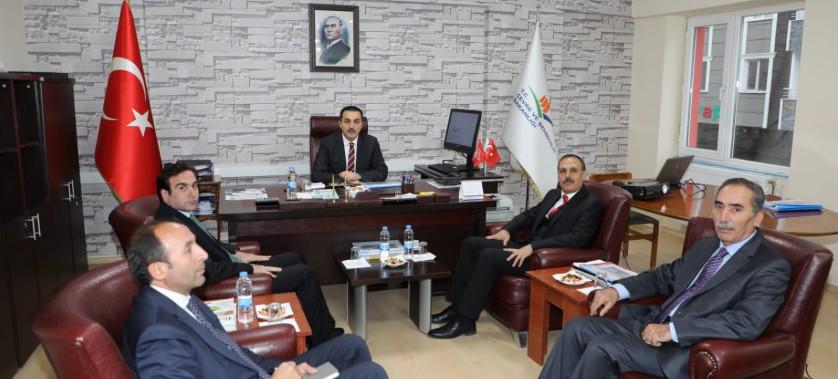 Sayın Valimiz Türker Öksüz İl Müdürlüğümüzü Ziyaret etmiş olup