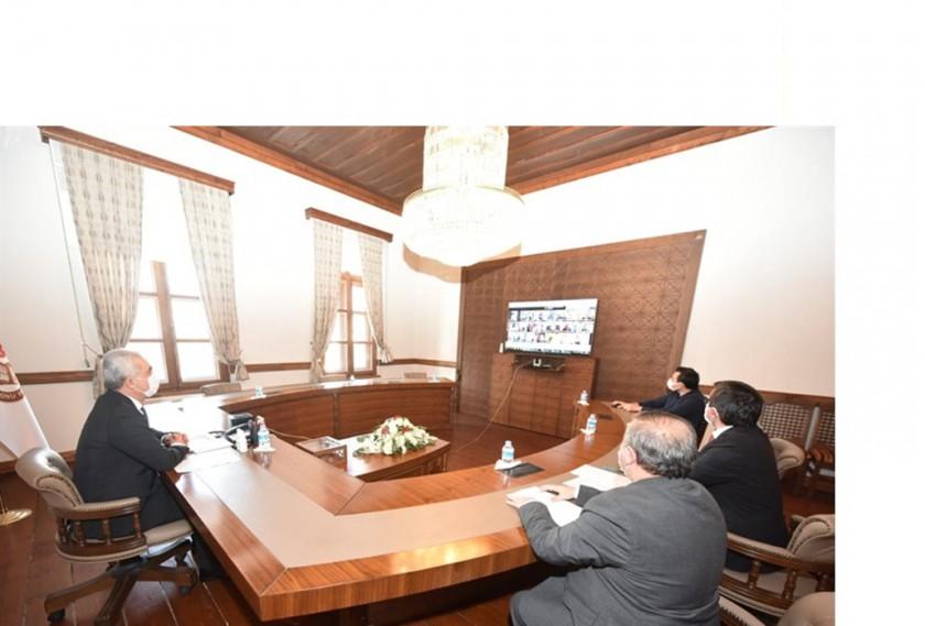 Vali Çakır Başkanlığında İl Mahalli Çevre Kurulu Toplantısı Yapıldı.