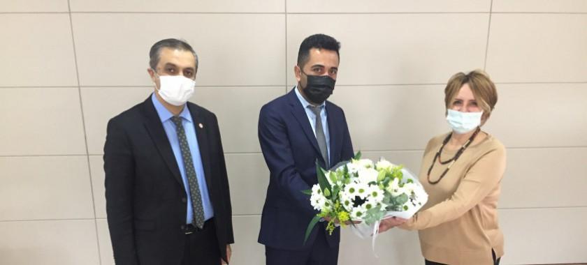 İl Müdür Yardımcımıza Tebrik Töreni