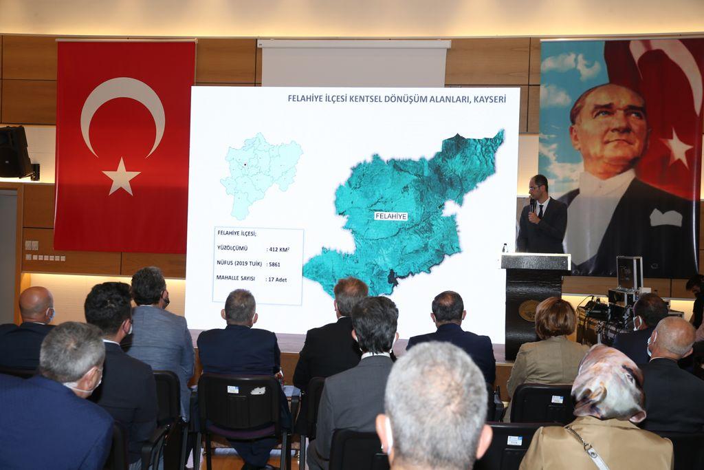 Kayseri Kentsel Dönüşüm Strateji Belgesi Toplantısı Yapıldı