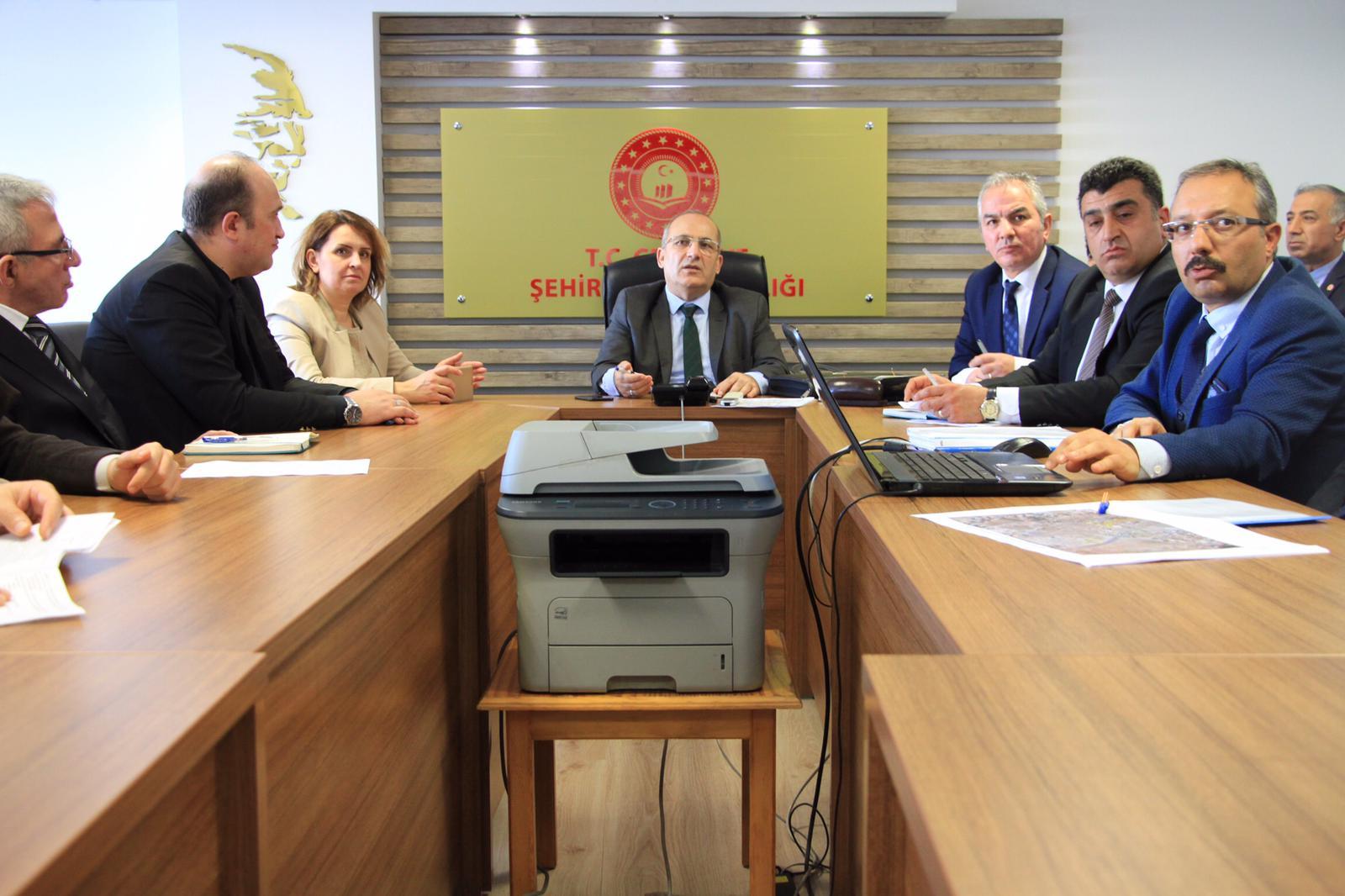Milli Emlak  Genel Müdür Yardımcımız Mehmet VURAL ile Değerlendirme Toplantısı