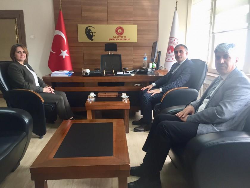 Sarız Belediye Başkanı Müdürlüğümüzü Ziyaret etti