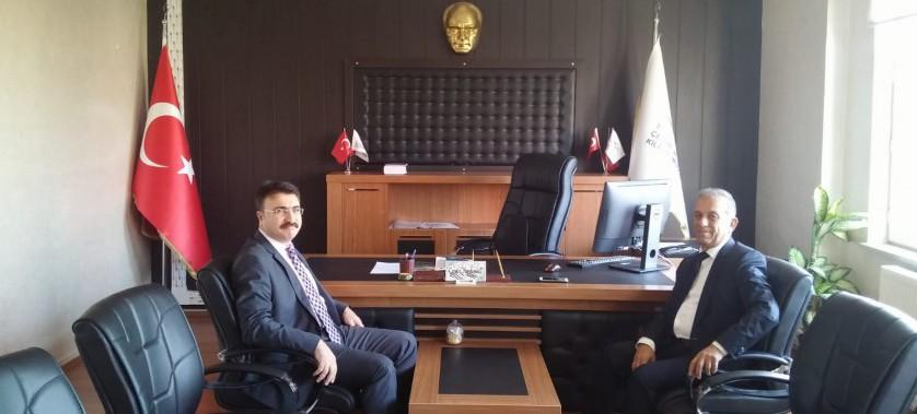 Vali Yardımsı Mehmet AKTAŞ kurumumuzu ziyaret etmiştir.