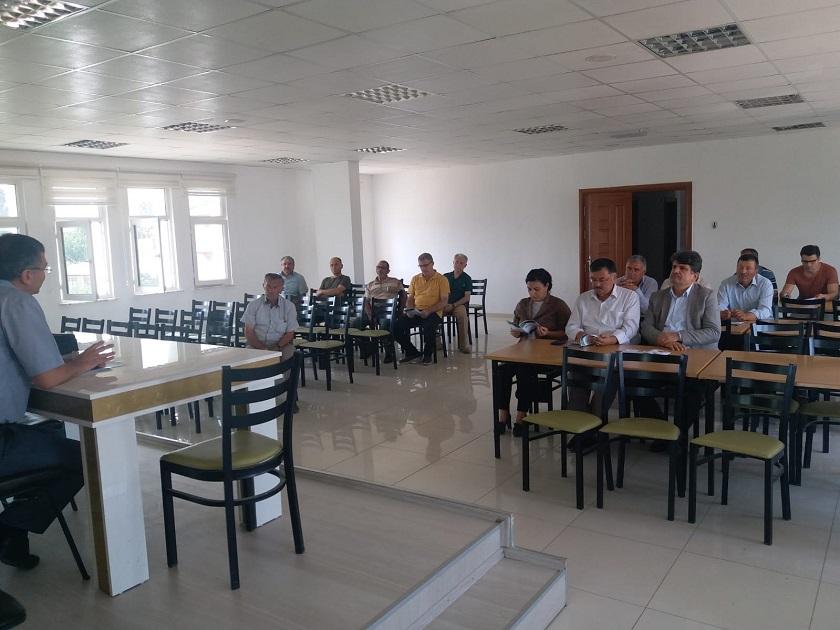 Bahşılı İlçesinde İmar Barışı Bilgilendirme Toplantısı Yapıldı