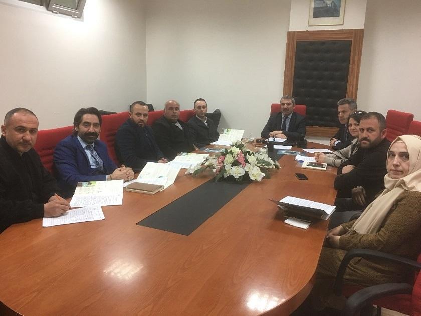 Egzoz Emisyon Ölçüm İstasyonları Yetkilileri İle Toplantı Yapıldı
