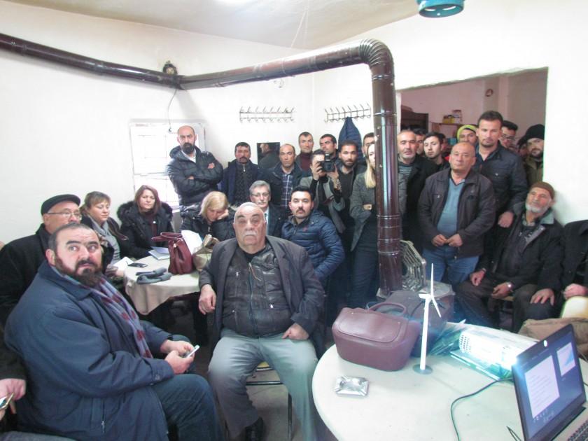 İlimizin İLK Rüzgar Enerjisi Santrali (RES) Projesinin, Halkın Katılımı Toplantısı Yapılmıştır
