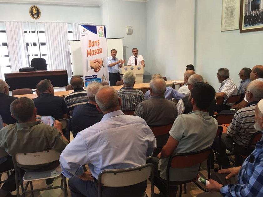 Karakeçili İlçesinde İmar Barışı Bilgilendirme Toplantısı Yapıldı