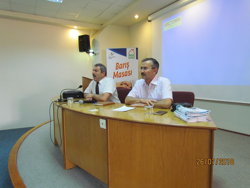 Keskin İlçesinde İmar Barışı Bilgilendirme Toplantısı Yapıldı