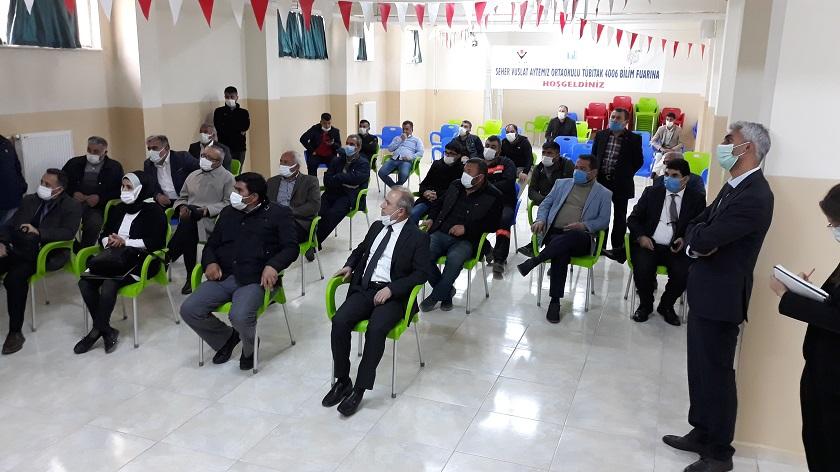 """""""Kurşun-Çinko İzabe Tesisi Projesi"""" Halkın Katılımı Toplantısı Düzenlenmiştir."""