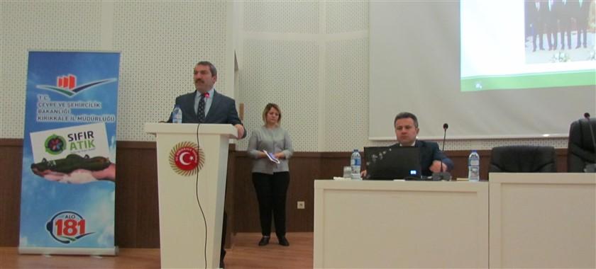 Sıfır Atık Projesi Odak Noktası Personellerin Bilgilendirme Toplantısı Yapıldı