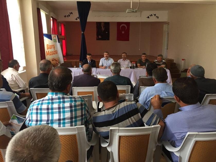 Sulakyurt İlçesinde İmar Barışı Bilgilendirme Toplantısı Yapıldı