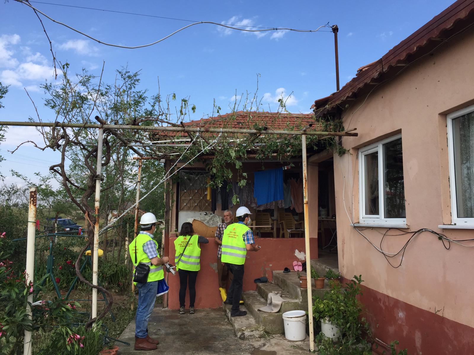 15.06.2020 Tarihinde İlimiz Merkez Üsküpdere Köyünde meydana gelen afet sonrasında Müdürlüğümüz personeli…
