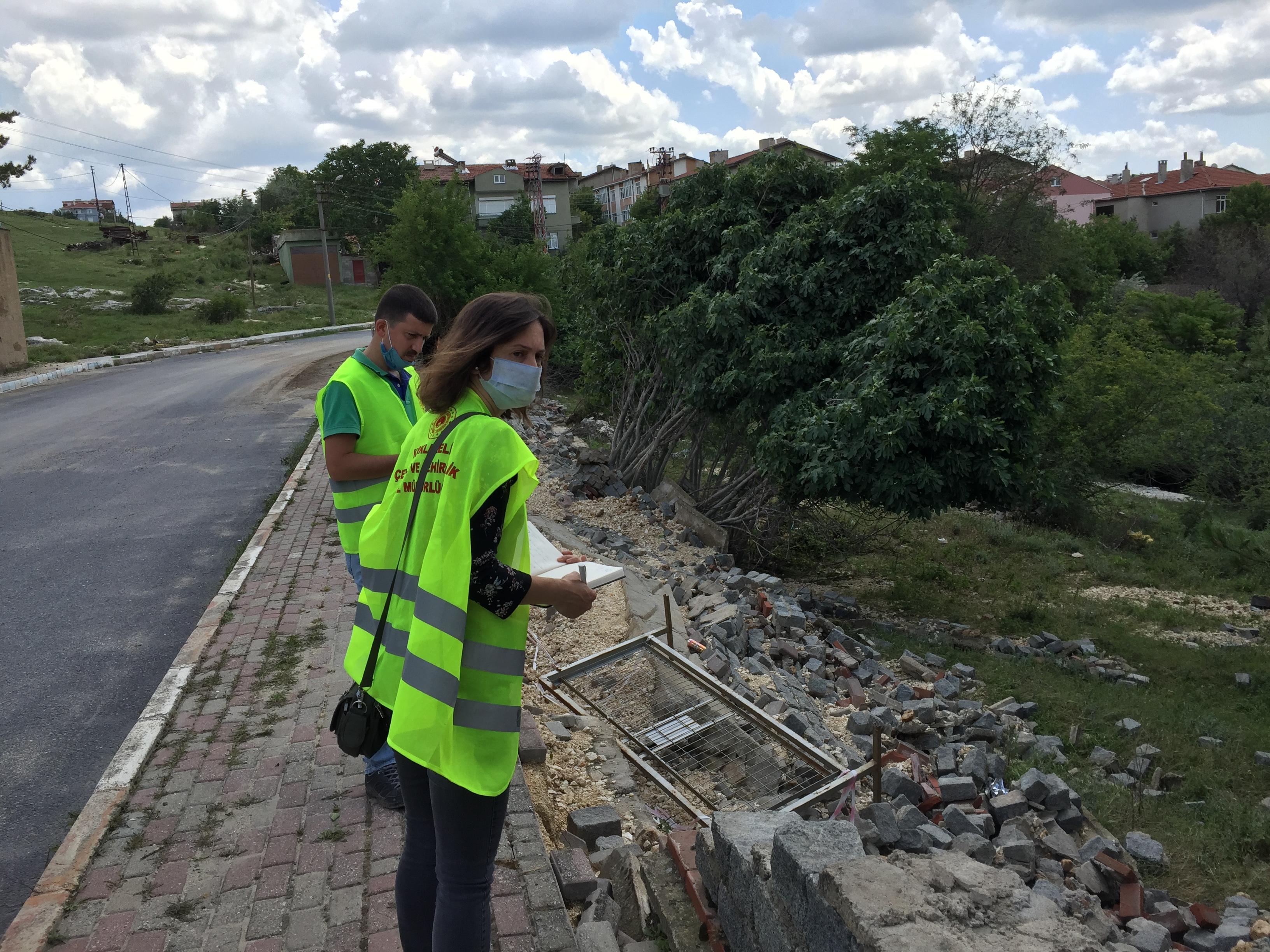 21.06.2020 Tarihinde İlimiz Pınarhisar İlçesinde meydana gelen afet sonrasında Müdürlüğümüz personeli…