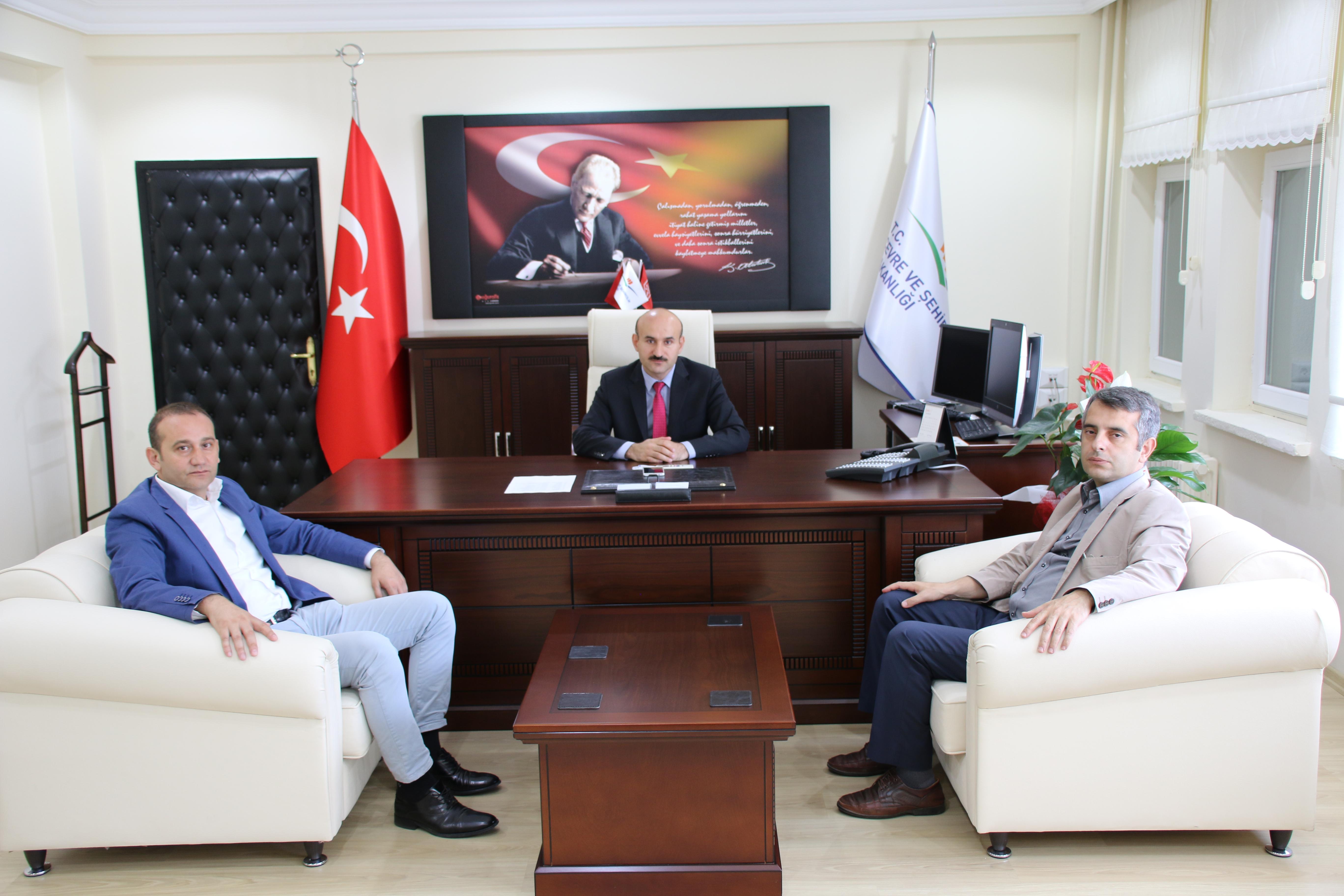 Aile ve Sosyal Politikalar İl Müdürü Mehmet KARAMAN İl Müdürlüğümüze ziyarette bulunmuştur.