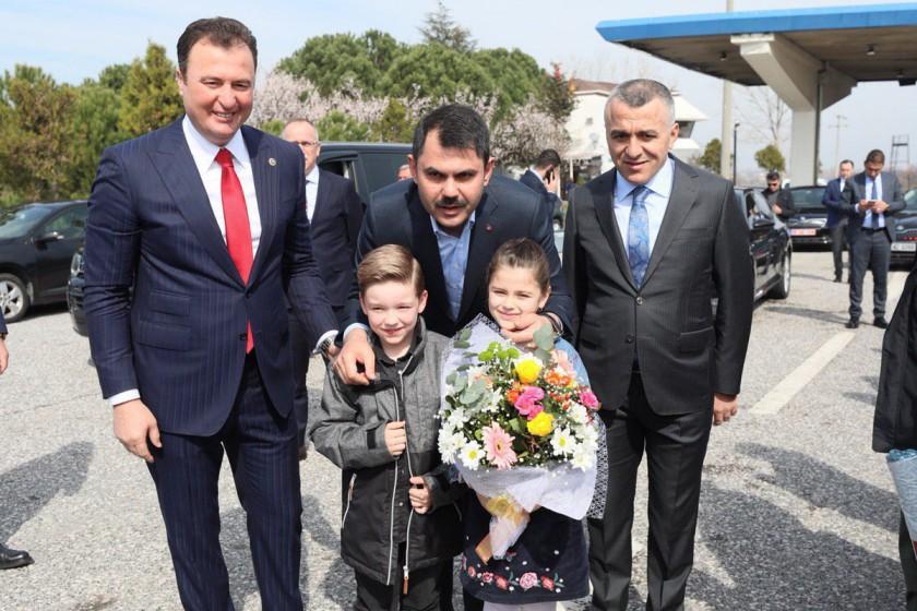 Çevre ve Şehircilik Bakanımız Sn. Murat KURUM İlimizi Ziyaret Etmiştir.
